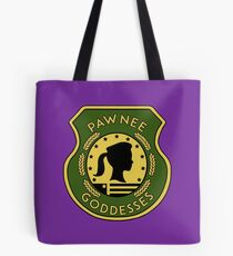 Pawnee Goddess - Parks & Recreation Tote Bag