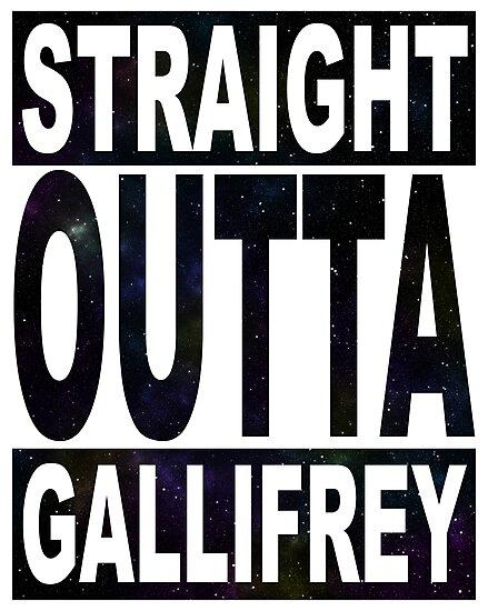 Straight Outta Gallifrey by kayve