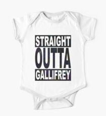 Straight Outta Gallifrey Kids Clothes