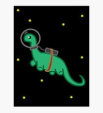 Space Dino Photographic Print