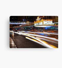Chicago Streaks Canvas Print