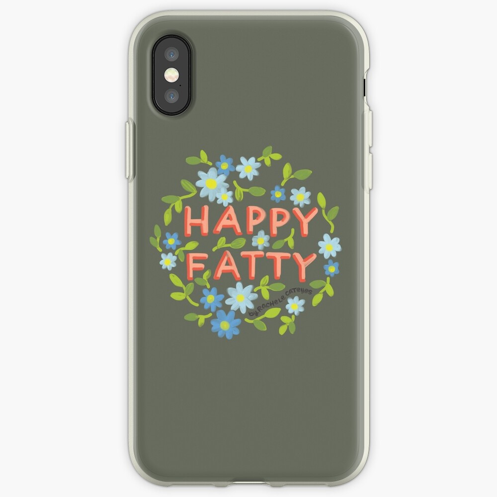 Happy Fatty iPhone Cases & Covers