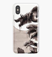 Crag Werewolf iPhone Case