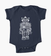 Vintage Toy Robot V2 One Piece - Short Sleeve