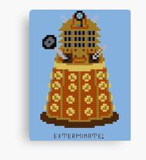 Dalek Exterminate Canvas Print