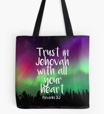 Trust in Jehovah Tote Bag