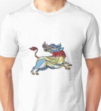 Wild Boar Razorback Prancing Mosaic Unisex T-Shirt