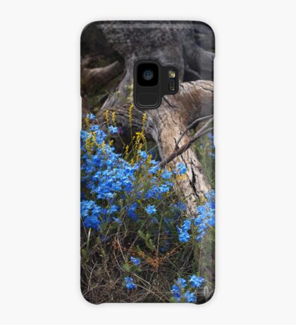 Lechenaultia and Tree Case/Skin for Samsung Galaxy