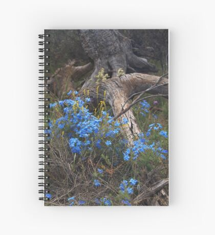 Lechenaultia and Tree Spiral Notebook