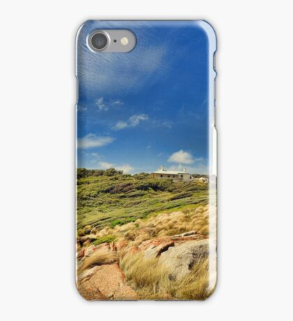 The Lighthouse at Hicks Point iPhone Case/Skin