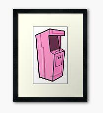 Arcade, Pink Framed Print