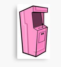 Arcade, Pink Canvas Print