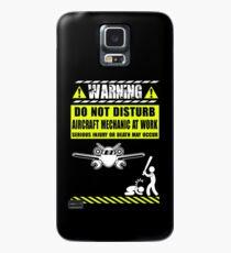 aircraft mechanics Mechanic Sayings T Shirts aircraft mechanic tools R Case/Skin for Samsung Galaxy