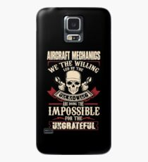 aircraft mechanic Car Mechanic T Shirts aircraft mechanic Auto Mechani Case/Skin for Samsung Galaxy