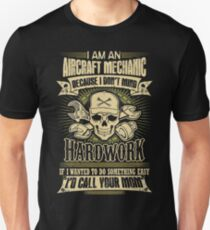 aircraft mechanic car mechanic t shirts auto mechanic t shirts Unisex T-Shirt