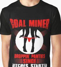 coal miner's daughter coal miner christmas coal miner girlfriend coal  Graphic T-Shirt