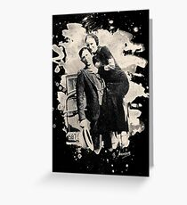 Bonnie & Clyde (bleached look) Greeting Card