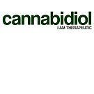 CANNABIDIOL (I AM THERAPEUTIC) by ozlat