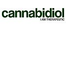 CANNABIDIOL (I AM THERAPEUTIC) by Jakob Sikais