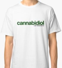 CANNABIDIOL (I AM THERAPEUTIC) Classic T-Shirt