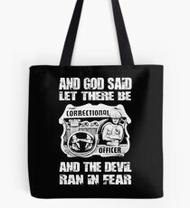 correctional officer Correctional Officers Wife correctional officer d Tote Bag
