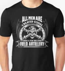 Soldiers field artillery license plates field artillery girlfriend fie T-Shirt