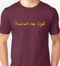 Vincent Van Gogh - Signature T-Shirt
