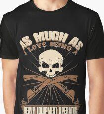 Heavy Equipment Operator Tshirts heavy equipment operator Animated sex Graphic T-Shirt