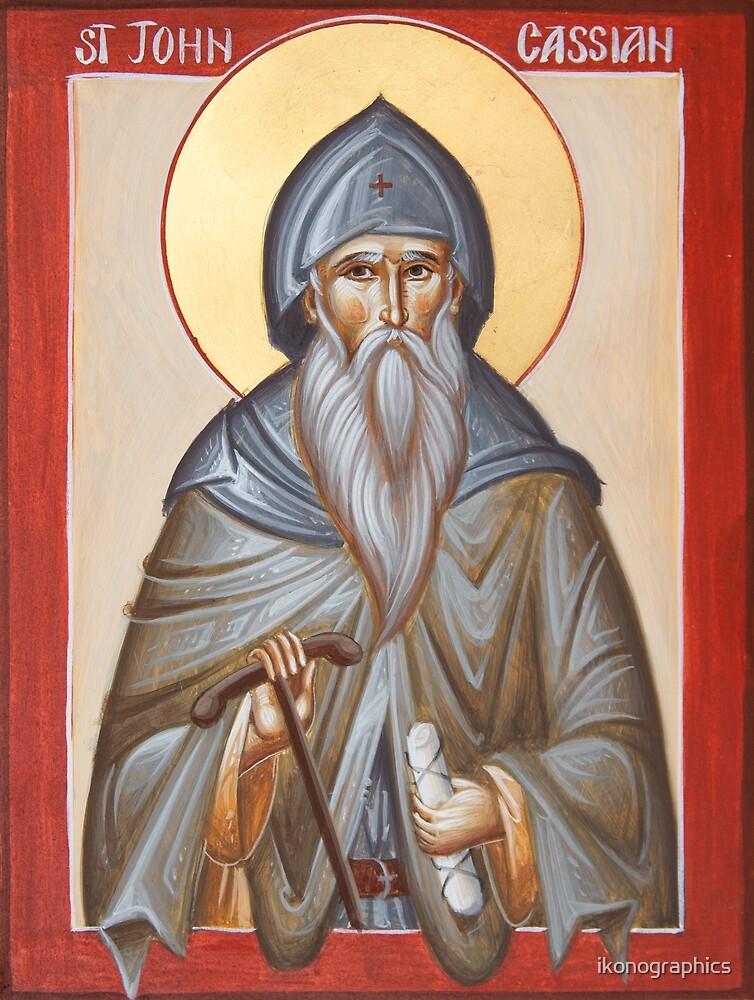 St John Cassian by ikonographics