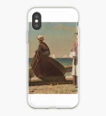 Winslow Homer, DAD'S COMING iPhone Case