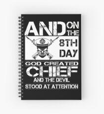 Airplane navy chief navy pride Us Navy navy chief dad navy chief wife  Spiral Notebook