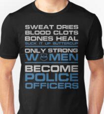 police officer boyfriend police officer k9 police officer wife police  Unisex T-Shirt
