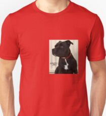 Staffy Dog Unisex T-Shirt