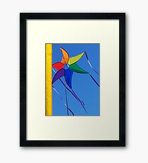 Colour High Framed Print