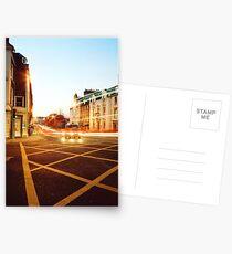 Dusk Traffic Postcards