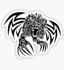 Wild animal tattoo Sticker