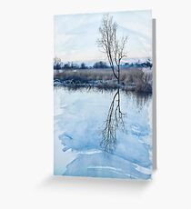 River Ant Greeting Card