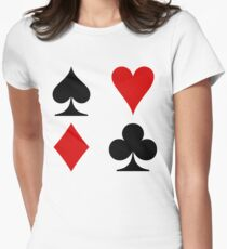 cardsigns Womens Fitted T-Shirt