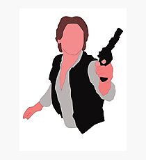 HAN SOLO Photographic Print