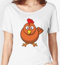 chicken Women's Relaxed Fit T-Shirt