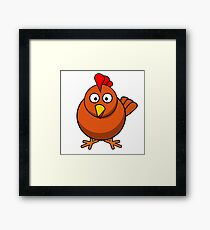chicken Framed Print