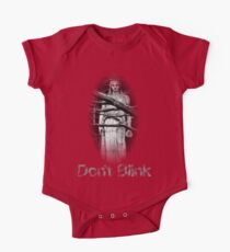Don't Blink Weeping Angel  One Piece - Short Sleeve