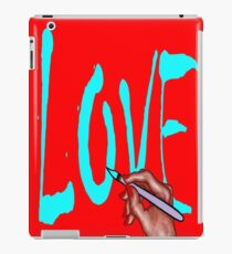LOVE iPad Case/Skin