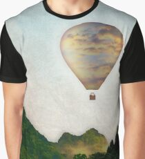 The Great Escape Hot Air Balloon Graphic T-Shirt
