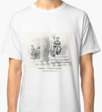 Angel footsteps - Currier & Ives - 1878 Classic T-Shirt