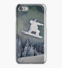 The Snowboarder iPhone Case/Skin
