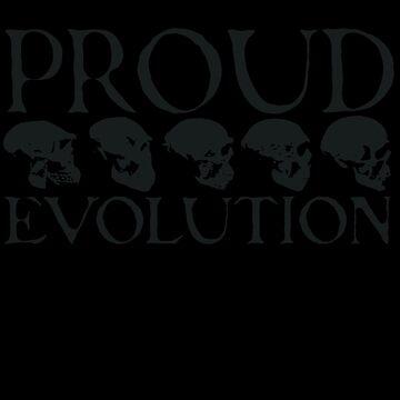Proud Evolution Skull by himmstudios