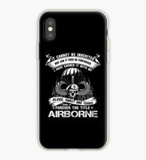 Airborne Infanterie Mutter Airborne Sprung Flügel Airborne Abzeichen Airborne Brot iPhone-Hülle & Cover