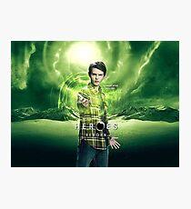 Saving The World - Nathan Photographic Print