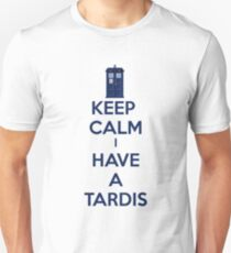 Keep Calm I Have A Tardis T-Shirt